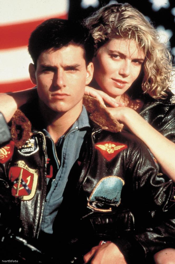 Például Tom Cruise, és a film jócsaja, Kelly McGillis