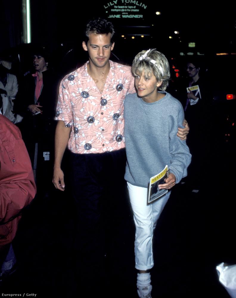 Aki Meg Ryannel az oldalán még ilyen csinos fiatalember volt 1986-ban