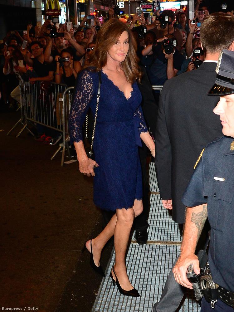 Caitlyn Jenner kifejezetten szép nő lett