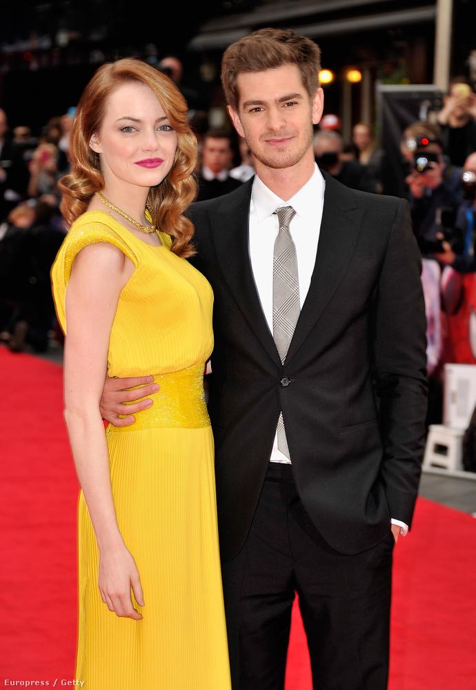 Emma Stone és Andrew Garfield is szakított  áprilisban, de náluk van némi esély a békülésre, ugyanis szeretnek együtt vásárolni.