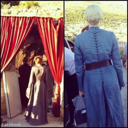 Sansa és Brienne hátulról.
