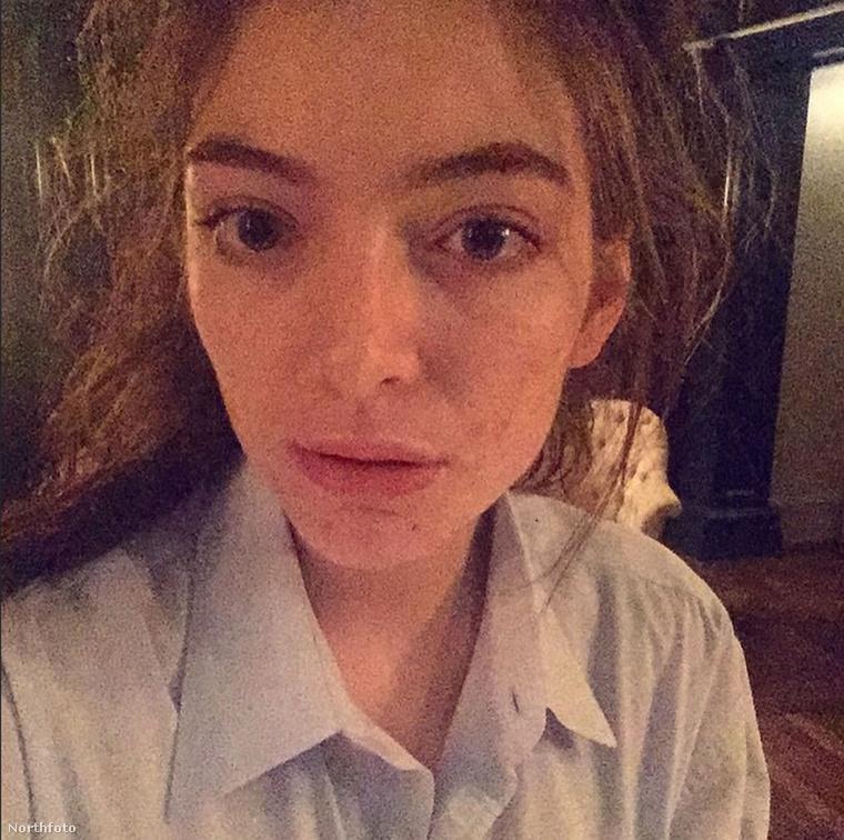 Lorde smink nélkül