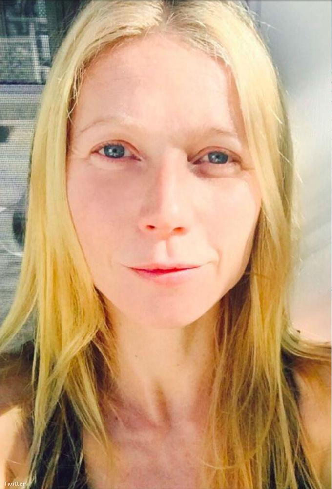 Gwyneth Paltrow smink nélkül