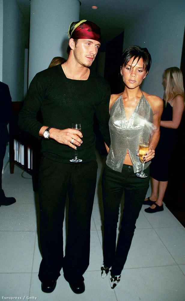Beckhamék még 1997-ben találkoztak