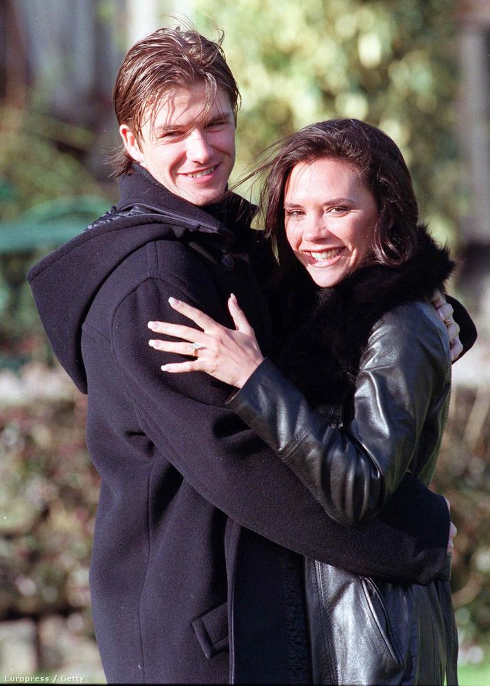 Victoria Beckham és David Beckham 16 évvel ezelőtt házasodott össze