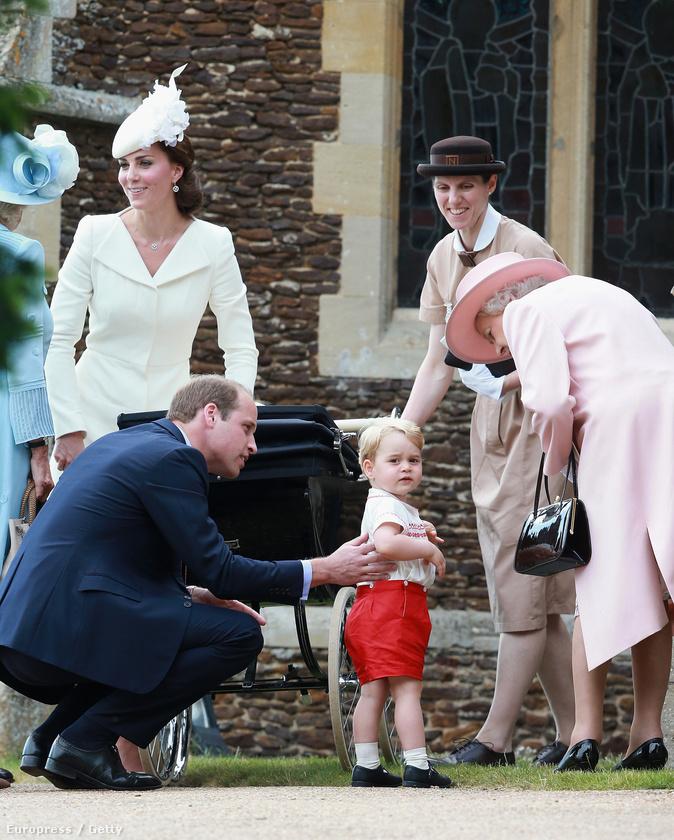 Úgyhogy térjünk vissza a majdnem kétéves György herceghez