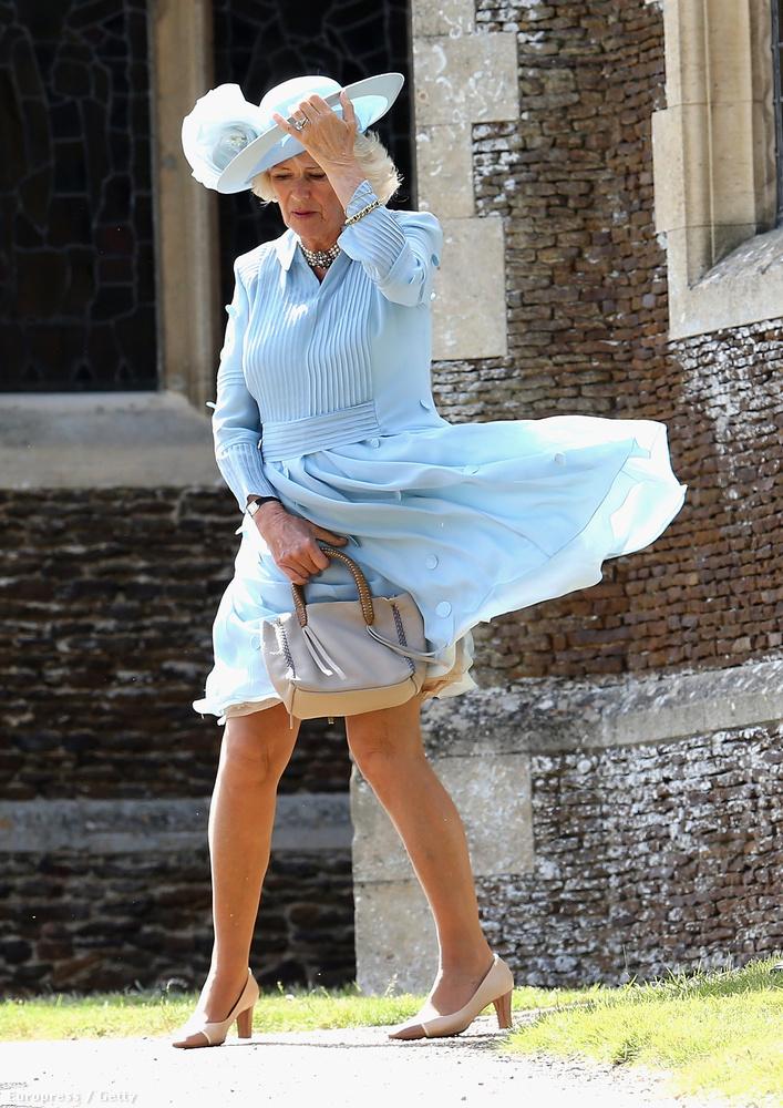 De végül Károly herceg felesége megmentette a helyzetet a táskájával