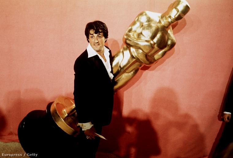 A jelöléseket egyébként a Rocky főszerepéért és forgatókönyvéért kapta
