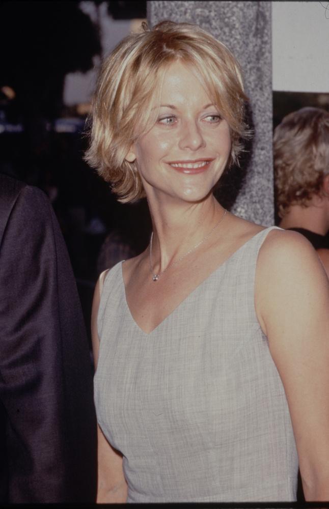1990--ben már rövid szőke hajjal mutatkozott, és ez lett az ő védjegye.