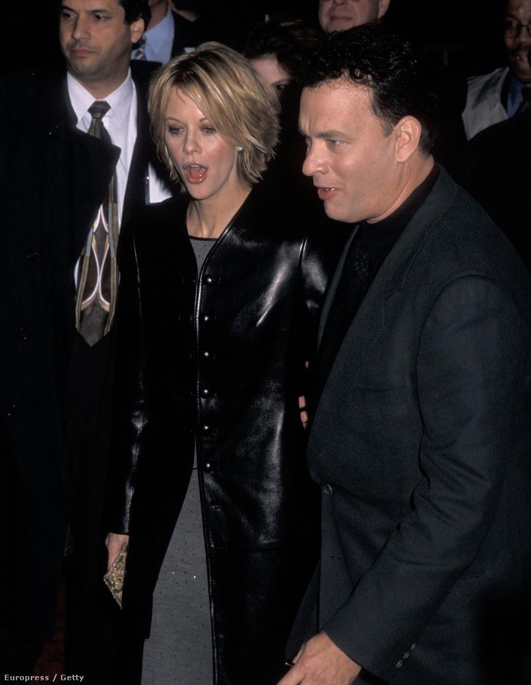 Tom Hanks és Meg Ryan A szerelem hálójában című filmben voltak szerelmesek egymásba