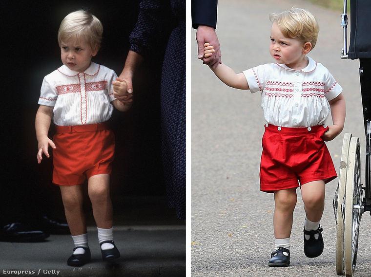 Akit ugyanúgy öltöztettek fel, mint apját 30 évvel ezelőtt