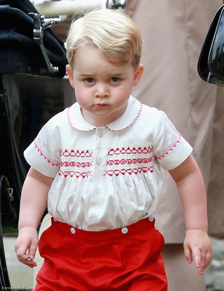 A legcukibb természetesen megint György herceg volt