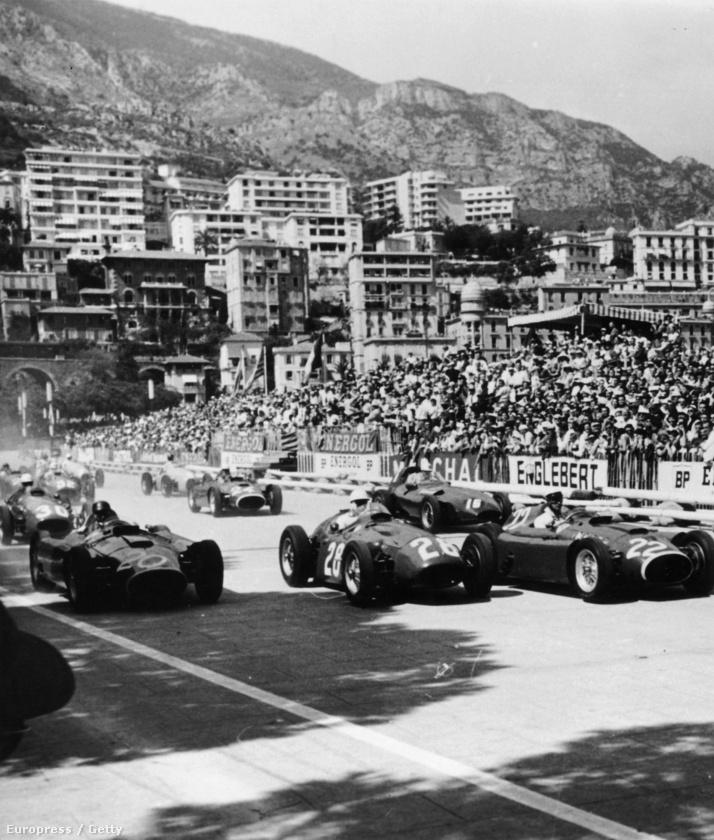 Már 1950-ben is voltak autóversenyek Monacóban