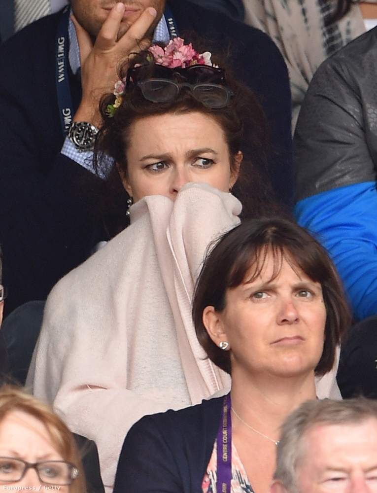 Helena Bonham Carter egyáltalán nem rejti véka alá, hogy stresszhormon-szintje maxon pörög