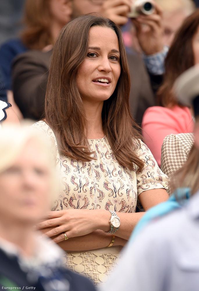 Pippa Middleton szomorú, de végül mégis beletörődő arcot vág