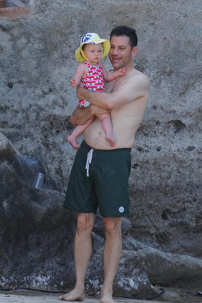 Jimmy Kimmel is Ischiában nyaral a családjával