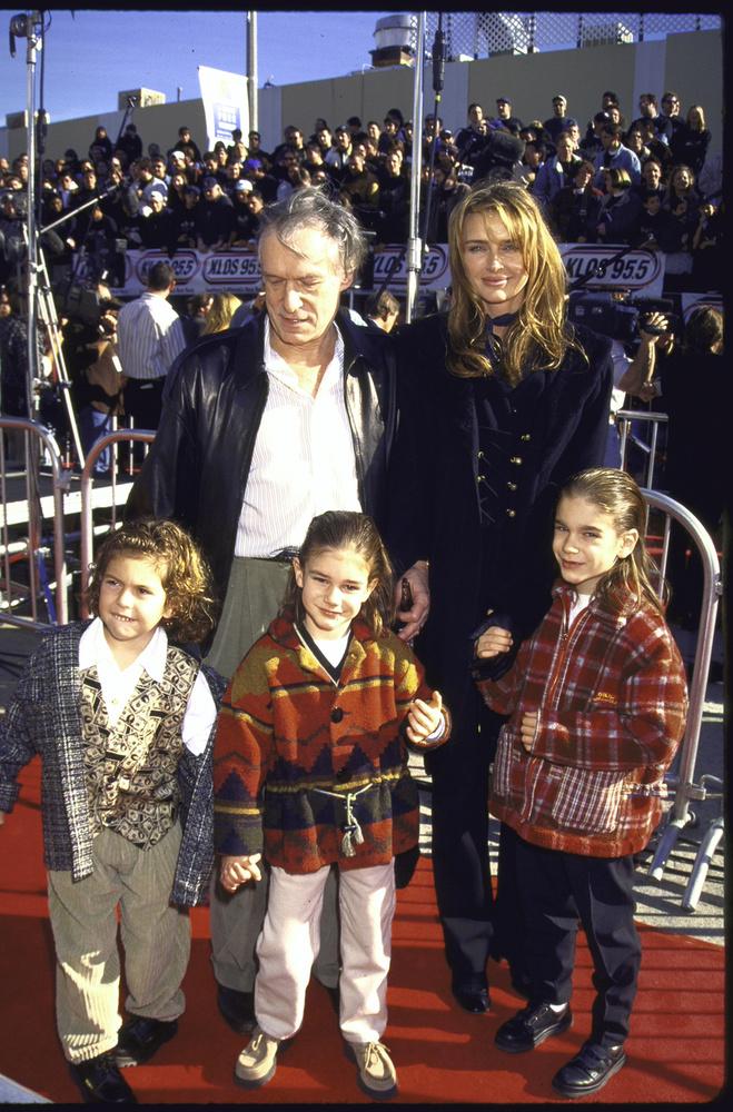 Kimberly Conraddal 89-ben házasodott össze, itt az egész család