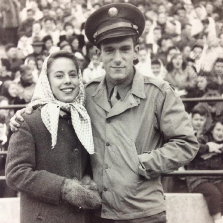 Első feleségét, Millie Williamst még a főiskolán ismerte meg