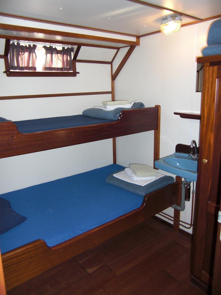 Az olcsóság azzal jár, hogy emeletes ágyon kell aludnia, a fürdőszobát pedig meg kell osztania másokkal