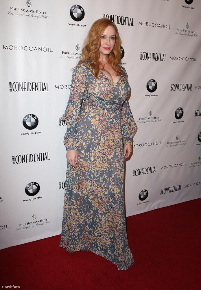 A Mad Men színésznőjét nemrég Emmy-díjra jelölték