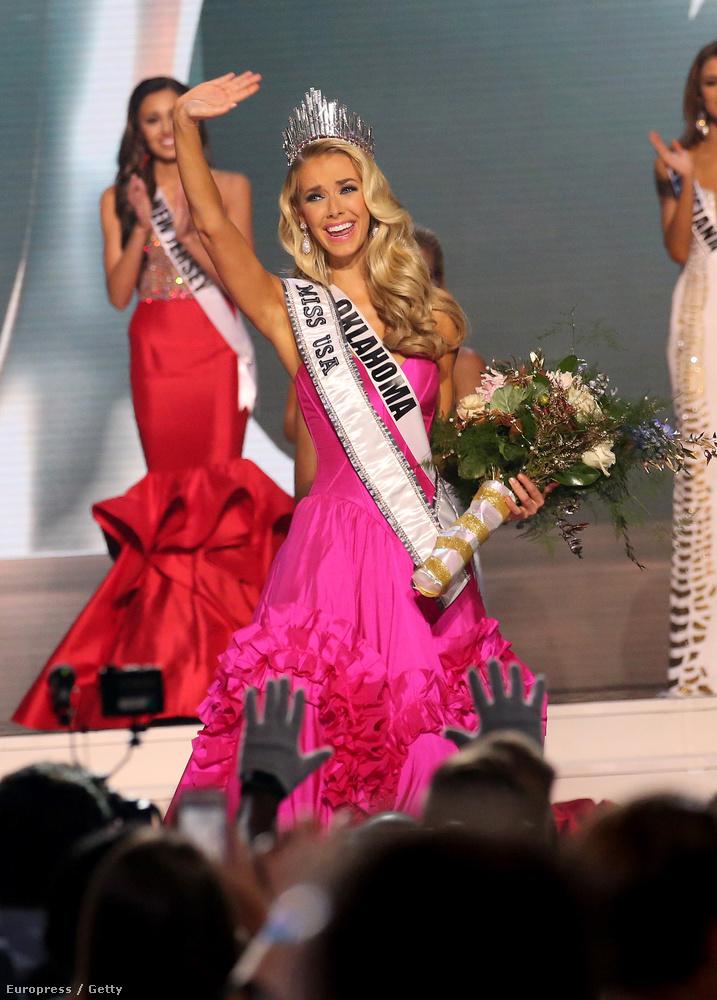 A hetet Miss USA örömködős képével nyitottuk.