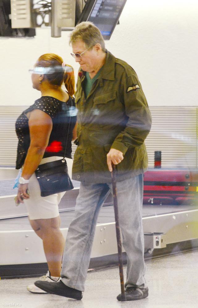 A Miami reptéren járt.