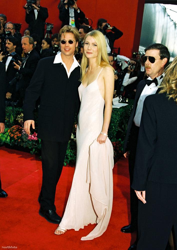 Gwyneth Paltrow és Brad PittPlatrownak nem Affleck volt az egyetlen filmes hódítása, Brat Pitt-tet 1995-ben a Hetedig forgatása alatt szedte fel, a filmben a feleségét alakította.