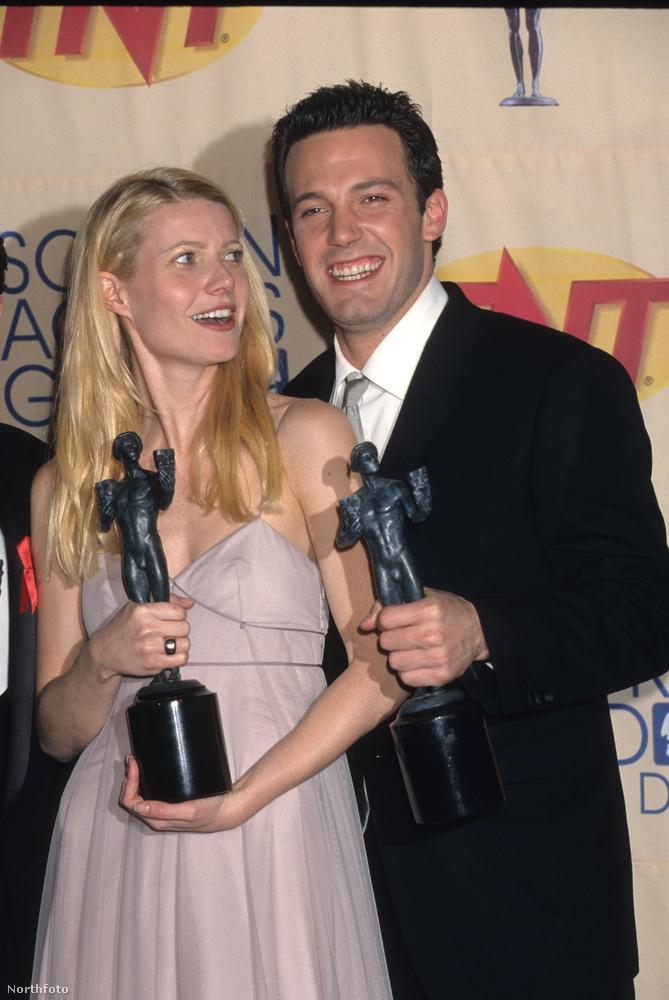 Gwyneth Paltrow és Ben AffleckŐk 1998-ban a Szerelmes Shakespeare miatt találtak egymásra, hogy aztán két éven keresztül elválaszthatatlanok legyenek.