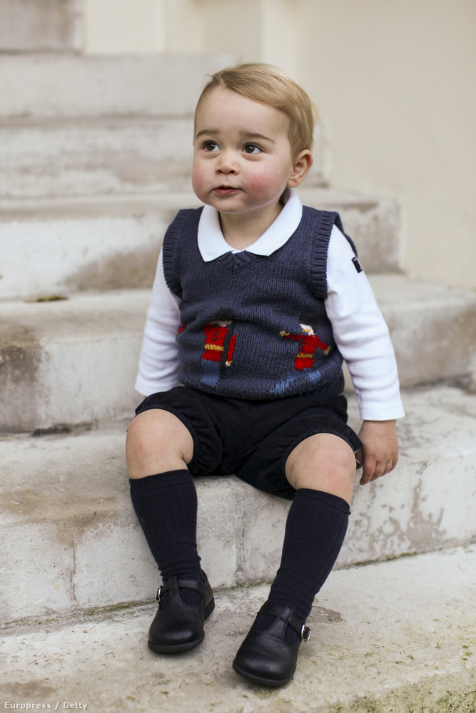 Azt viszont már nehezebb elképzelni, hogy mi lesz itt később, ha György herceg már most ENNYIRE cuki?!