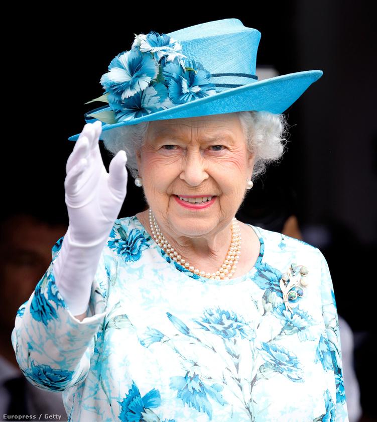 Például Erzsébet királynő