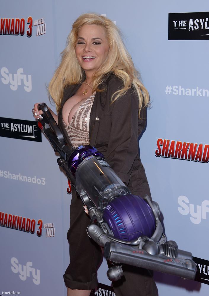 Az a helyzet, hogy pár napja volt a Sharknado 3 Los Angeles-i premierje