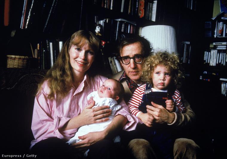 Mia FarrowMia Farrow nevét mindenki ismeri, aki Woody Allen filmekkel csajozik és már utánanézett, hogy sokáig házasok voltak, és van egy fiuk is, akinek az apja egyben a sógora is.