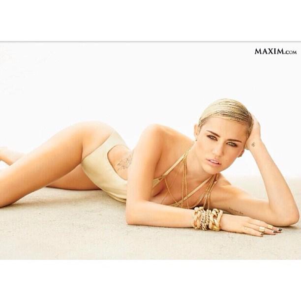 Miley Cyrus ezzel a képpel lépett be az Instagram közösségébe 2013