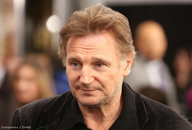 2012-ben már látszódott, hogy Liam Neeson nem találkozott egy fiatalítószerrel sem, amivel általában Hollywood-i kollégái szoktak találkozni