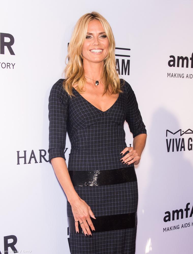 Heidi Klum pont annyi idős, mint Beckinsale