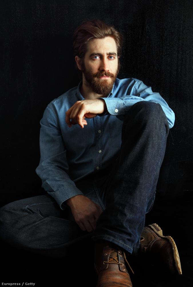 Jake Gyllenhaal pont úgy néz ki ezen a képen, mint akit már nagyon megvisel az egyedüllét, úgyhogy keresse megy gyorsan, és vigye el randizni!