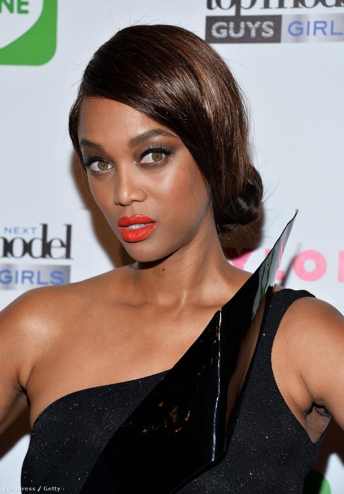 Ne ijedjen meg, ő is Tyra Banks!