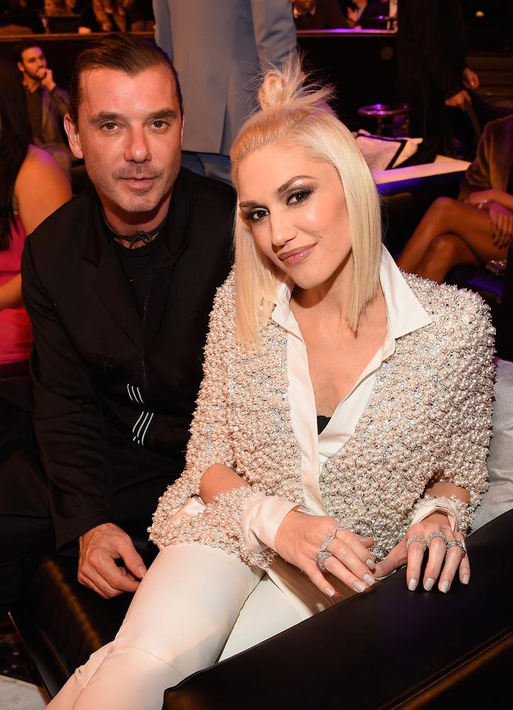 Ezen a képen Gwen Stefani és Gavin Rossdale zenészeket láthatják