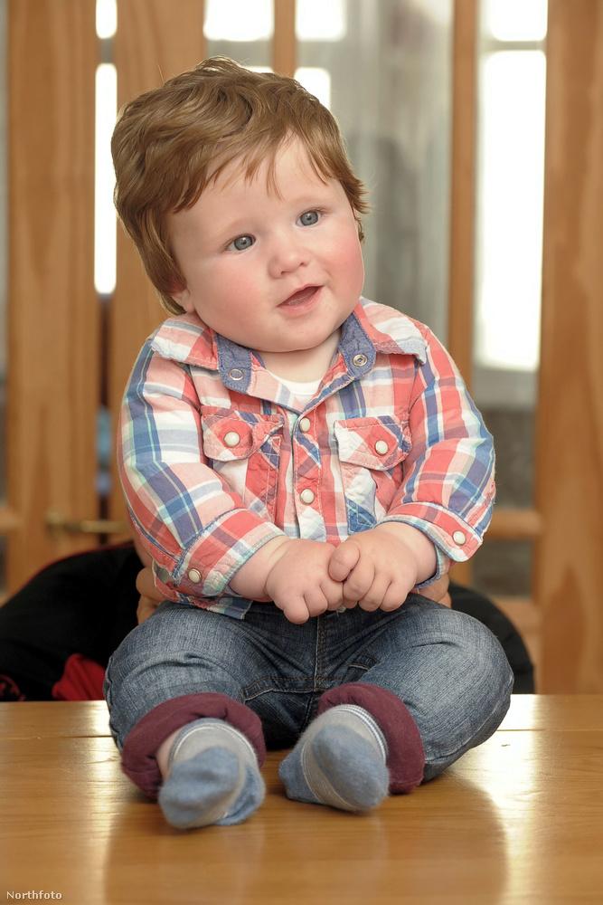 És akkor most ismerje meg a képen látható Fergus Hillmant, aki még csak féléves, vagyis mindössze hat hónapos, és az ott a fején NEM PARÓKA!!