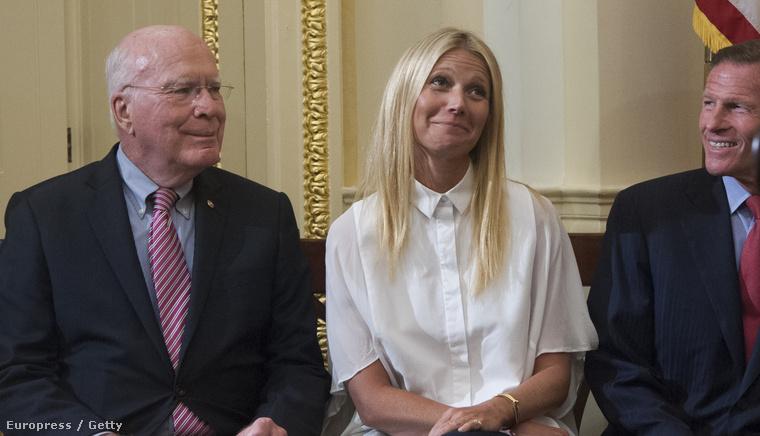 Gwyneth Paltrow múlt héten elment édesanyjával Washingtonba.