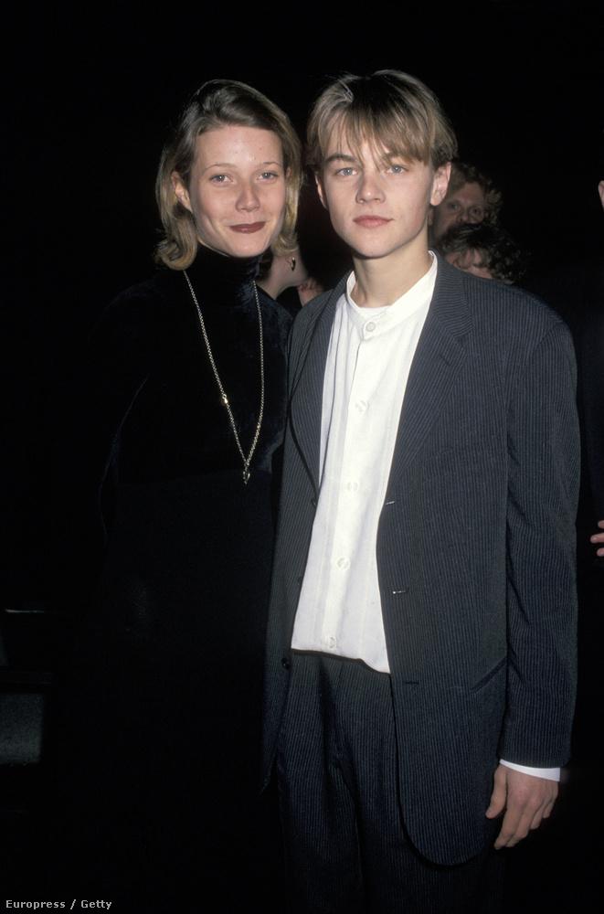 Viszonyításképpen: 1994-ben, amikor 22 éves volt, így festett Leonardo DiCaprióval - aki akkor 20.