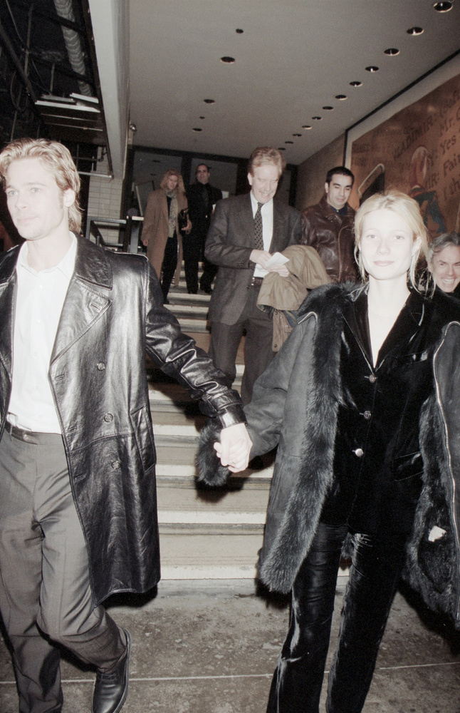 Köszönjük a figyelmet, viszlát! (Brad Pittel, 1995-ben.)