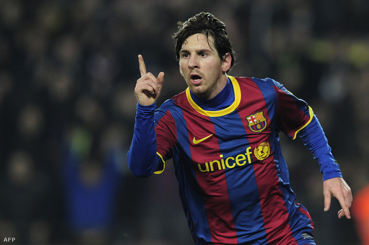 Lionel Messi a következő, őt 22,4-en követik.