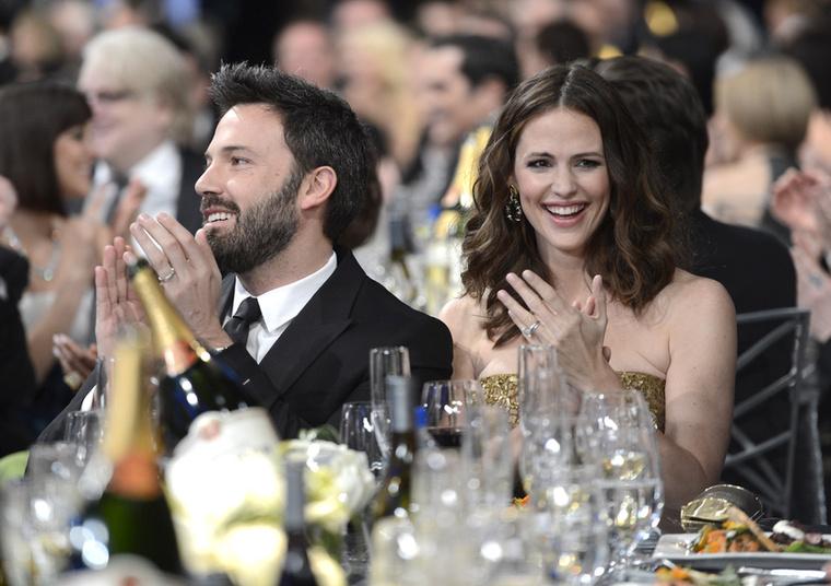 De felesége, Jennifer Garner mellett volt igazán felszabadult