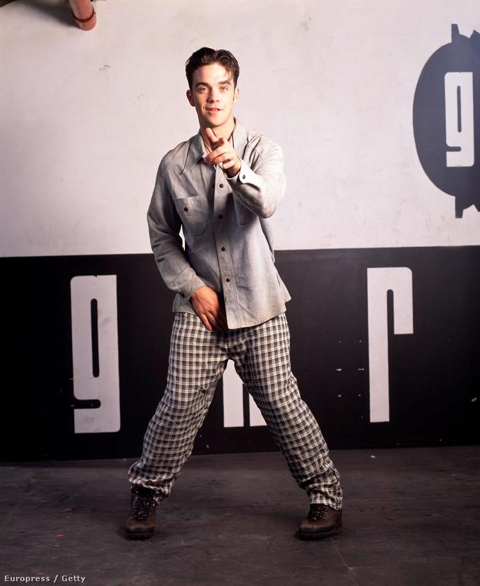 És Robbie Williams egy fiúbanda, a Take That tagja volt