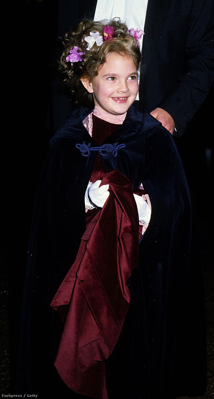 Drew Barrymore például már 1982-ben ott cukiskodott a vörös szőnyegen