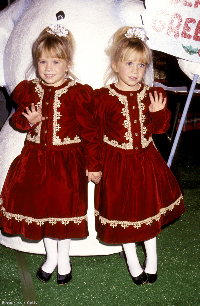 Az Olsen-ikrek is elég korán kezdték színészi karrierjüket