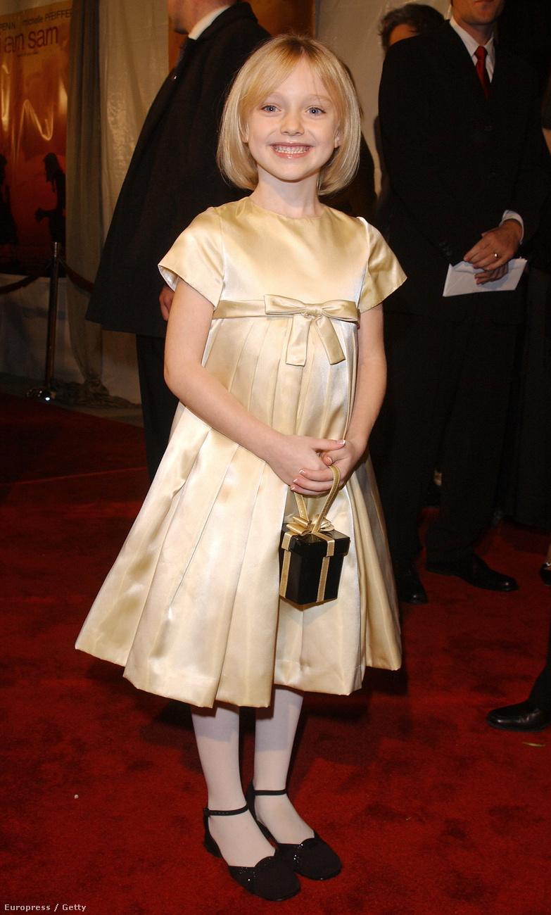 Dakota Fanning volt a kétezres években minden film cuki szőke kislánya