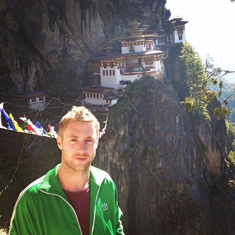 Például Bhutánba