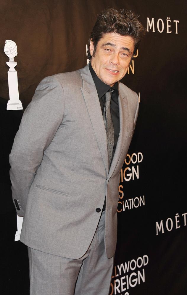 Benicio Del Toróról csak ilyen képek készültek az est folyamán